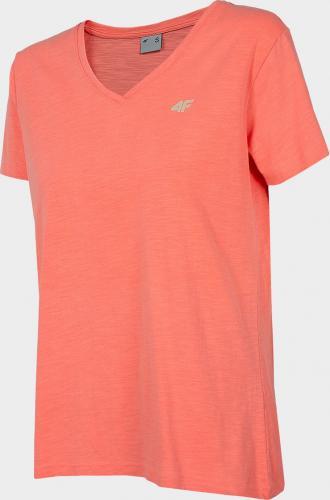 4f Koszulka damska H4L20-TSD002 pomarańczowa r. M