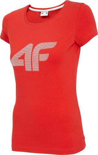 4f Koszulka damska NOSH4-TSD005 czerwona r. M