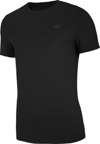 4f t-shirt męski H4Z20-TSM003 GŁĘBOKA CZERŃ r.XL