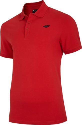 4f t-shirt męski H4Z20-TSM008 CZERWONY r.XL