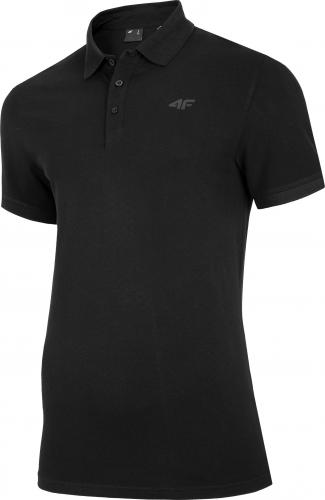 4f t-shirt męski H4Z20-TSM008 GŁĘBOKA CZERŃ r.XL