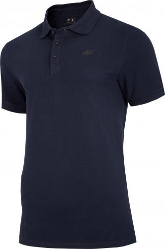 4f t-shirt męski H4Z20-TSM008 GRANAT r.L