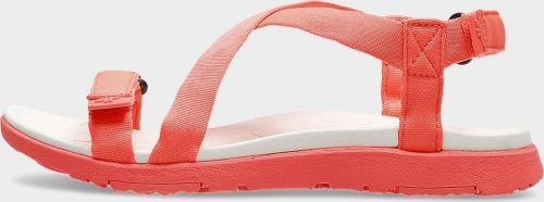 4f Sandały damskie H4L20 SAD002 czerwone r. 37