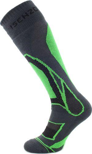 Isenzo Skarpety narciarskie Ski Socks czarne r. 32-34