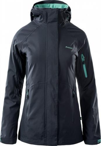 Elbrus Kurtka damska Makari Midnight Navy/Turquoise r. L