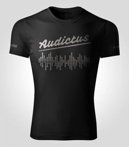 Audictus Koszulka męska NIM czarna r. S
