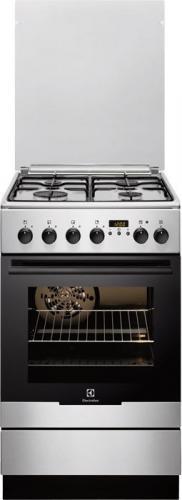 Kuchnia gazowo-elektryczna Electrolux EKK54553OX Inox