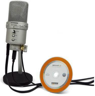 Mikrofon Samson G-Track USB (SAGM1U)