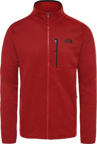 The North Face Bluza męska Canyonlands czerwona r. S (T93SO6HJK)