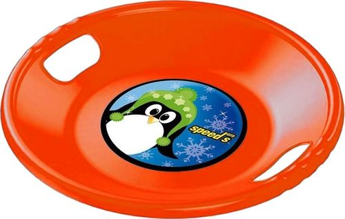 Prosperplast Ślizg talerz pomarańczowy 56cm
