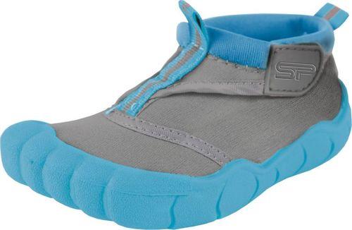 Spokey Obuwie plażowe, buty do wody junior REEF BOY szaro-niebieskie Spokey Rozmiar 33