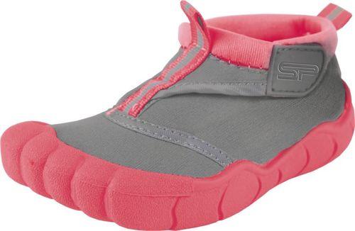 Spokey Obuwie plażowe, buty do wody junior REEF GIRL szaro-koralowe Spokey Rozmiar 33