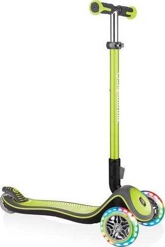Globber Hulajnoga 3-kołowa Globber Elite Deluxe 444-406 lime green uniwersalny