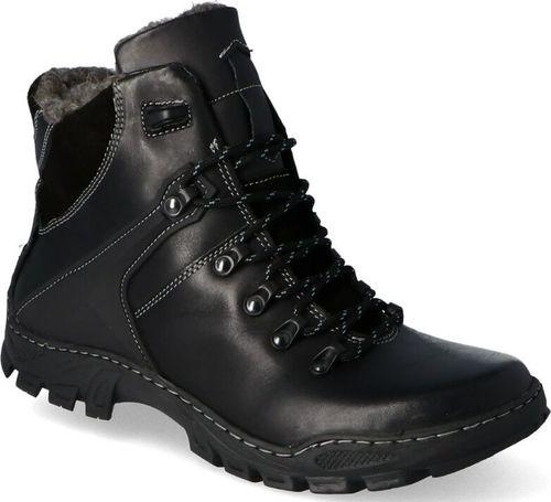 Kent Buty męskie 119 czarne r. 45 (3943)