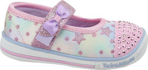 Skechers Buty dziecięce Twinkle Play różowe r. 21 (20140N-PKMT)