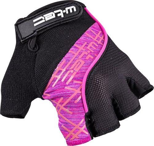 W-TEC Rękawiczki rowerowe W-TEC Karolea Kolor Czarno-różowy, Rozmiar M