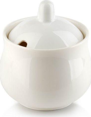 Affek Design Affek Design cukiernica porcelanowa z pokrywką biała HTNA5363 uniwersalny