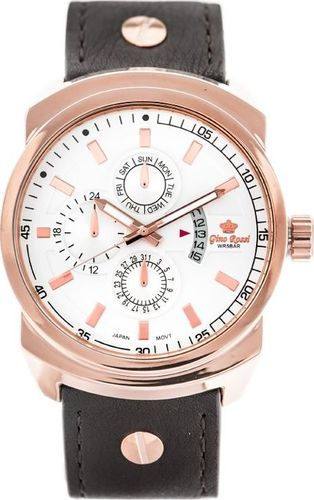 Zegarek Gino Rossi ZEGAREK MĘSKI GINO ROSSI - 8558A (zg179d) uniwersalny