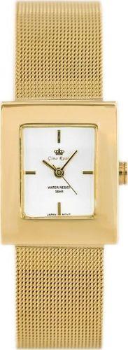 Zegarek Gino Rossi ZEGAREK DAMSKI GINO ROSSI - DIORA - black (zg571d) uniwersalny