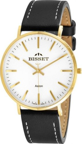 Zegarek Bisset ZEGAREK MĘSKI BISSET BSCE75GIS (zb065d) uniwersalny
