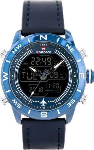 Zegarek Naviforce ZEGAREK MĘSKI NAVIFORCE - NF9144 (zn077e) - blue + box uniwersalny
