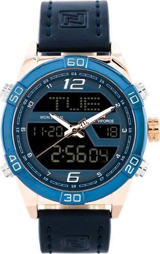 Zegarek Naviforce ZEGAREK MĘSKI NAVIFORCE - NF9128 (zn071e) - blue/rose + box uniwersalny