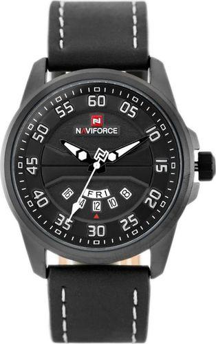 Zegarek Naviforce ZEGAREK MĘSKI NAVIFORCE - NF9124 (zn055c) + BOX - black/white uniwersalny
