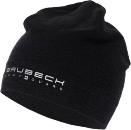 Brubeck Czapka zimowa Active Wool czarna r. S/M (HM10180)