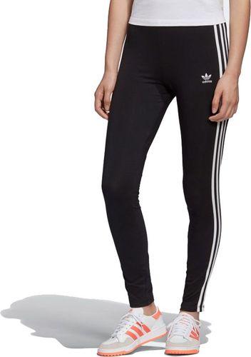 Adidas Legginsy damskie 3-Stripes Tight czarne r. 32 (FM3287)