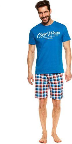 Henderson Piżama Jimmy 36827-55X Niebieska - L