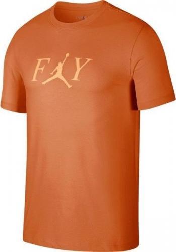 Jordan  Koszulka męska Fly pomarańczowa r. XL (AT8932-220)