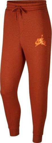 Jordan  Spodnie męskie Jumpman Classic Pants pomarańczowe r. M (BV6008-246)