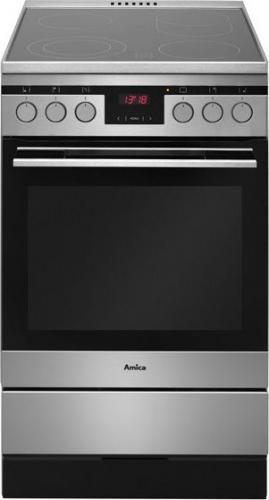 Amica KC 514CE3 413TsKDHaQ(XL) Inox w Morele net -> Kuchnie Amica Z Plytą Ceramiczną