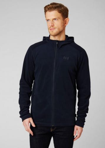 Helly Hansen Bluza męska Daybreaker Hooded Fleece Jacket Navy r. M (51869_597)