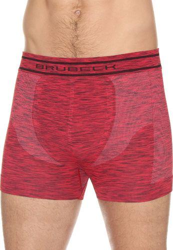 Brubeck BX10780 Bokserki męskie FUSION ciemnoczerwony L