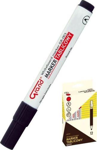 Grand Marker tablicowy GR-003 czarny (12szt) GRAND