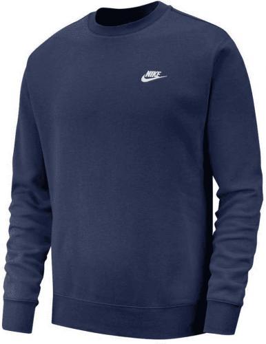 Nike Bluza męska Sportswear Club Crew granatowa r. L (BV2662-410)