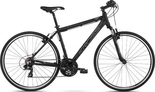 """Kross Rower Kross EVADO 1.0 czarny-grafitowy mat 19"""""""