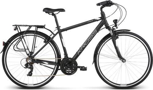 """Kross Rower Kross TRANS 1.0 czarny-biały mat 17"""""""