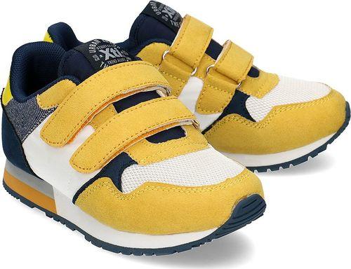 XTI Xti - Sneakersy Dziecięce - 57082 BLANCO-AMARILLO 28