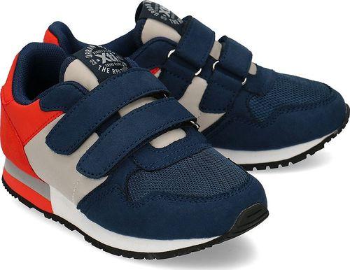 XTI Xti - Sneakersy Dziecięce - 57082 NAVY-GRIS 32