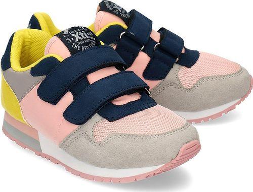 XTI Xti - Sneakersy Dziecięce - 57077 ROSA-GRIS 28