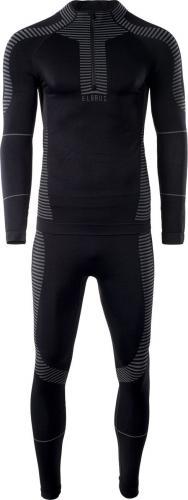 Elbrus Zestaw bielizny męskiej Radiav Set Black r. M/L