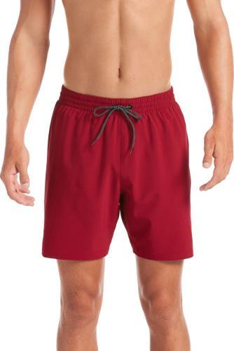 """Nike Szorty kąpielowe Essential Vital 7"""" czerwone r. XL (NESSA479605)"""