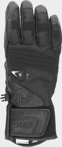 4f Rękawice narciarskie H4Z19-REM005 czarne r. S