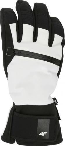 4f Rękawice narciarskie H4Z19-RED004 białe r. XS