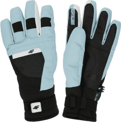 4f Rękawice narciarskie H4Z19-RED005 niebieskie r. XS