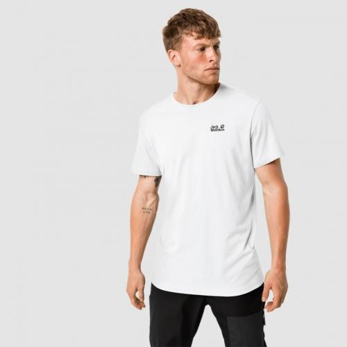 Jack Wolfskin Koszulka męska Essential T Men white rush r. XL