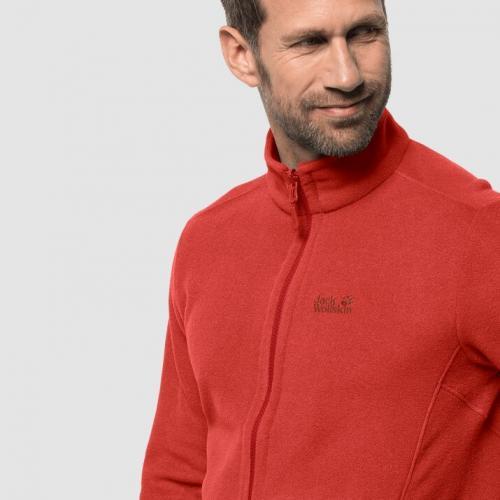 Jack Wolfskin Bluza męska Moonrise Jacket Men lava red r. L