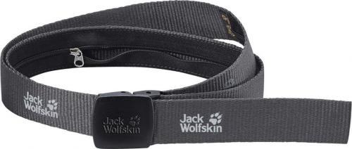 Jack Wolfskin Pasek męski Secret Belt Wide dark steel 125cm